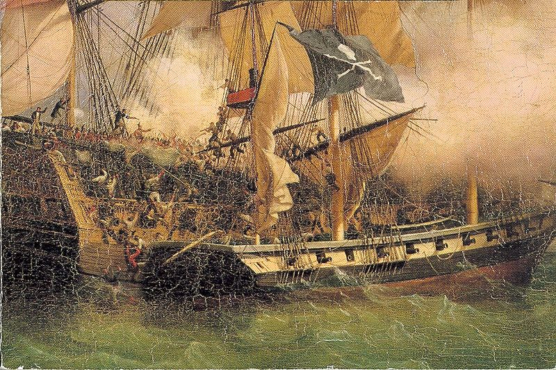 painting of the capture of the william