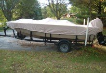 Tom's MirroCraft Boat Cover