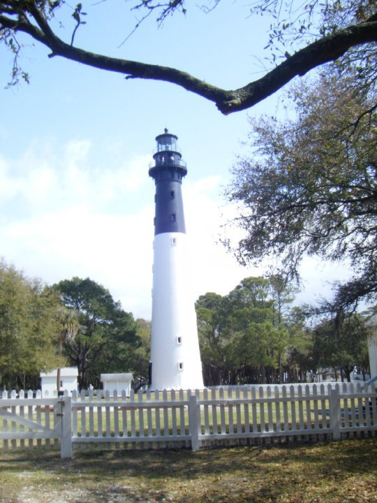 lighthouse at Hunting Island State Park
