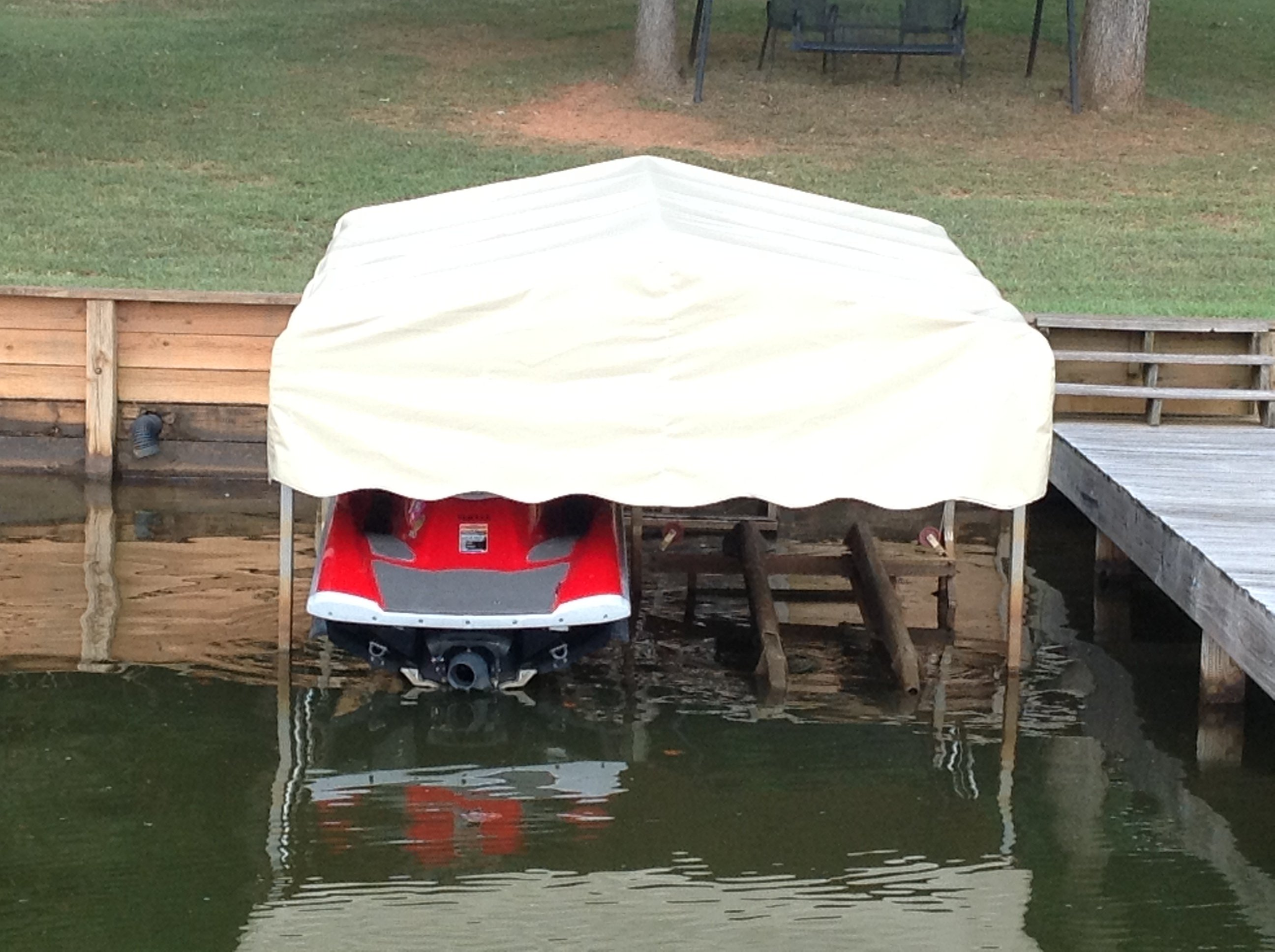 Boat Tent Cover : Covertuff replacement canopy lift covers boat lovers direct