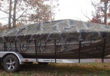 Camo Boat Covers and Bimini Tops