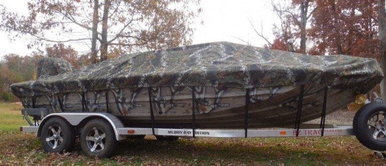 Camo Boat Covers and Bimini Tops