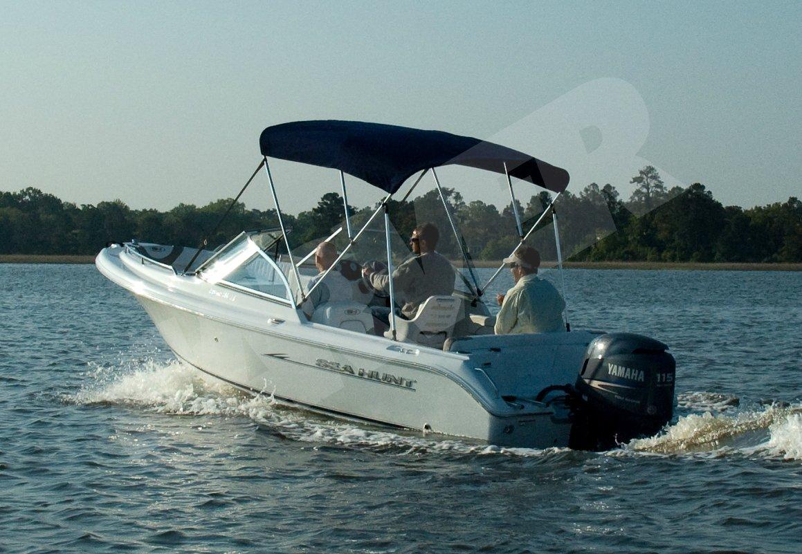 guys on boat