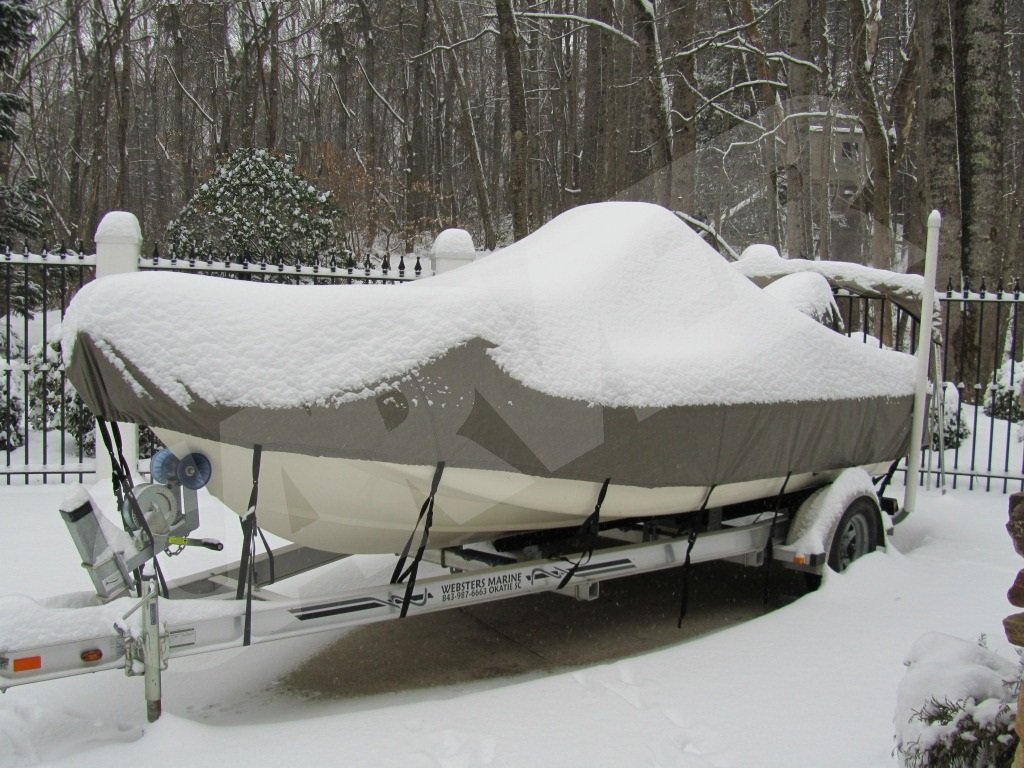 snow boat cover