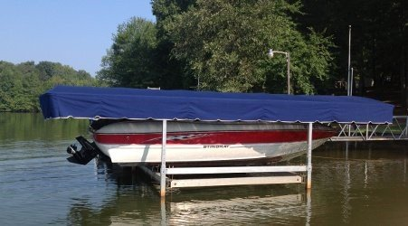 Boat Canopy Lifts- CoverTuff